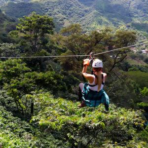 canopy tour hacienda la chimba costa rica